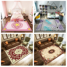 Modern Minimalist Home Polyester Non-slip Living Room Bedroom Carpet  rugs and carpets for home living room kids bedroom