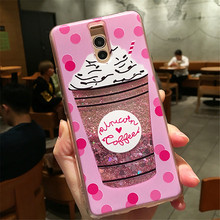 Cyato Glitter Dynamic Liquid Quicksand Case for Huawei Honor V20 Soft Silicon Back Cover For 8 9 Honor10