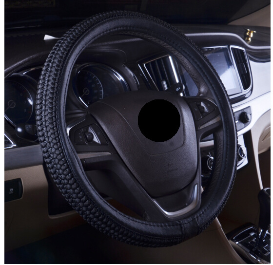 2018 Hot Sale Real Funda Volante Lancer X Volante De Carro Summer Car Steering Wheel Sleeve Ice Wire Used To Set Manufacturers