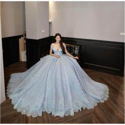 2019 Новое поступление реальные фотографии бальное платье свадебное платье винтажное мусульманское плюс размер кружевное свадебное платье