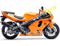 Hot Vendas, Laranja para Kawasaki zx7r 96 97 98 99 00 01 02 03 ZX 7R 1996 1997 1998 1999 2000 2001 2002 2003 Carroçaria conjunto