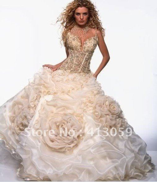 Perfect Wedding Gowns: Hot New Free Shipping Perfect Wedding Dress Bridal Gown