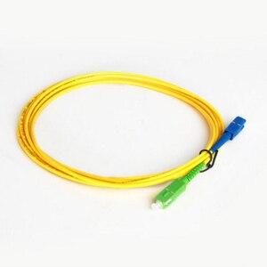 Image 4 - 10 sztuk/worek SC APC SC UPC 3M Simplex tryb światłowodowy kabel krosowy 2.0mm lub 3.0mm włókien światłowodowych FTTH kabel jumper darmowa wysyłka
