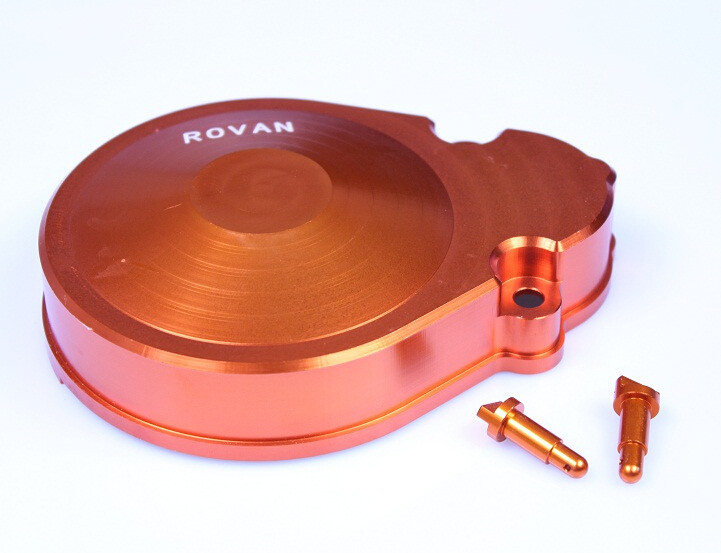 CNC alloy metal gear cover for1/5 HPI baja 5b KM ROVAN rovan baja cnc gear box assembly gear component differential general hpi