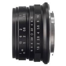 25mm F/1.8 Prime Lens Manual Focus MF For Panasonic Olympus M4/3 Mount Silver Black GH3/4/5 EM10 EM5 II E-PL7 E-PL9 PEN F GF3/5