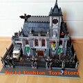 Super Hero Series The Batman Asylums Set Lepin 07044 1685Pcs  Children Educational Building Blocks Bricks DIY Toys Gift 10937