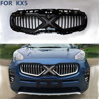 Free Shipping Car Protect Detector Stainless Steel Trim Front Up Grid Grill Grille Around 1pcs FOR