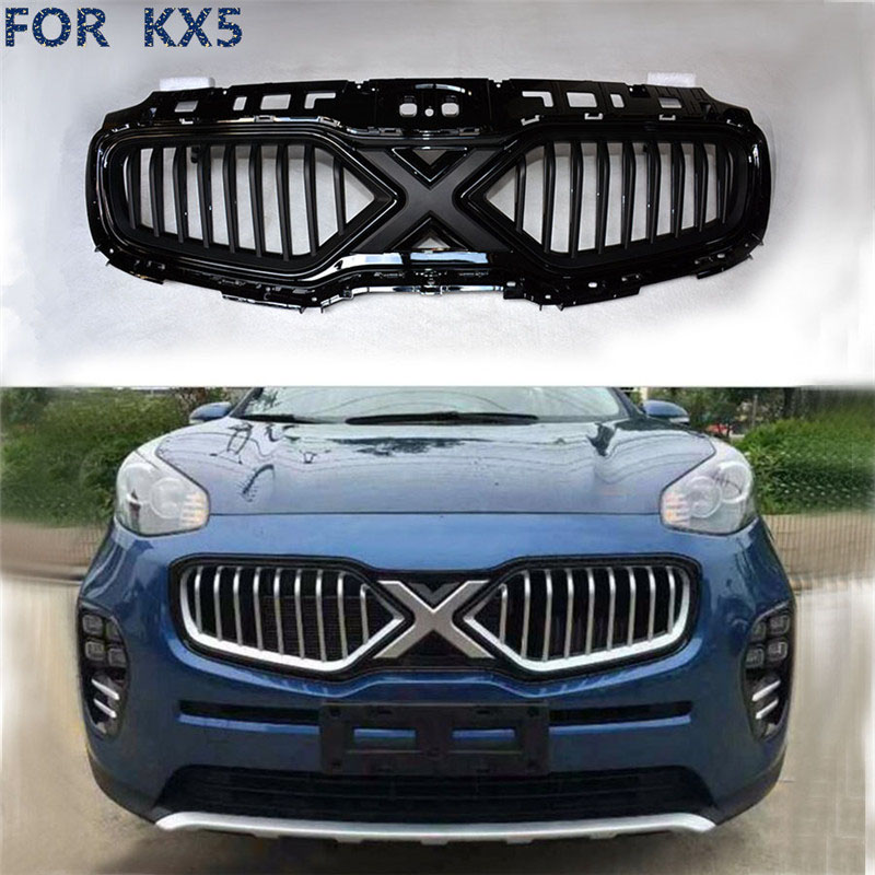 цена на citycarauto car styling FOR Kia Sportage KX5 2016 2017 ABS grille high quality top quality