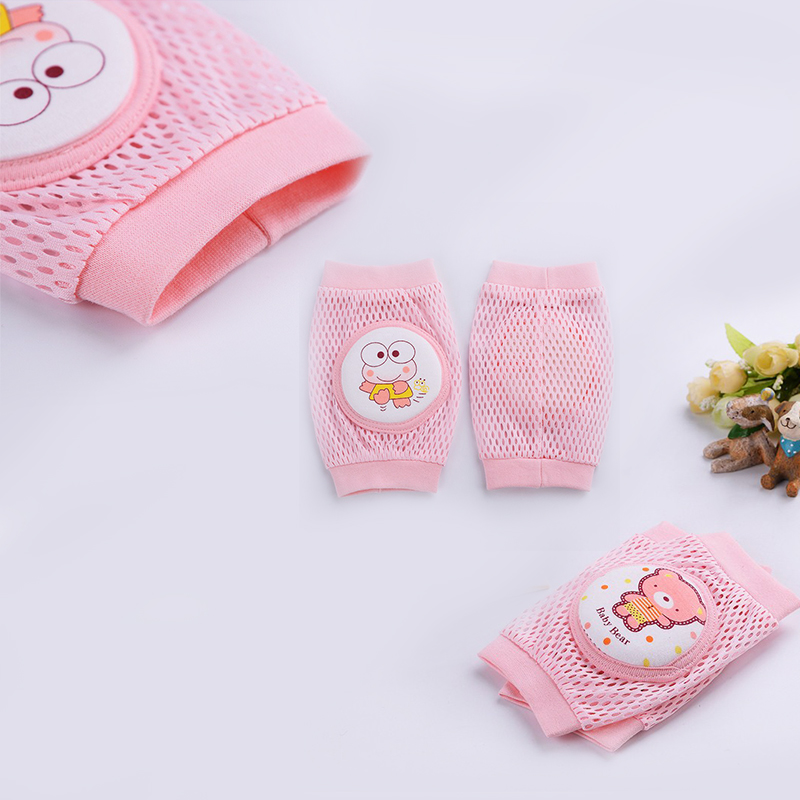 1 Pair baby knee pad kids safety crawling elbow cushion infant toddlers baby leg warmer knee support protector baby kneecap in Leg Warmers from Mother Kids