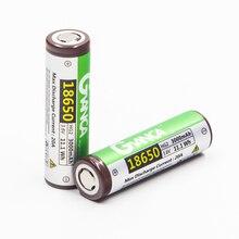 20A para E-cigarro HG2 18650 Bateria Original 3000 MAH 3.6 V Alta Dreno Li-ion MAX Descarga