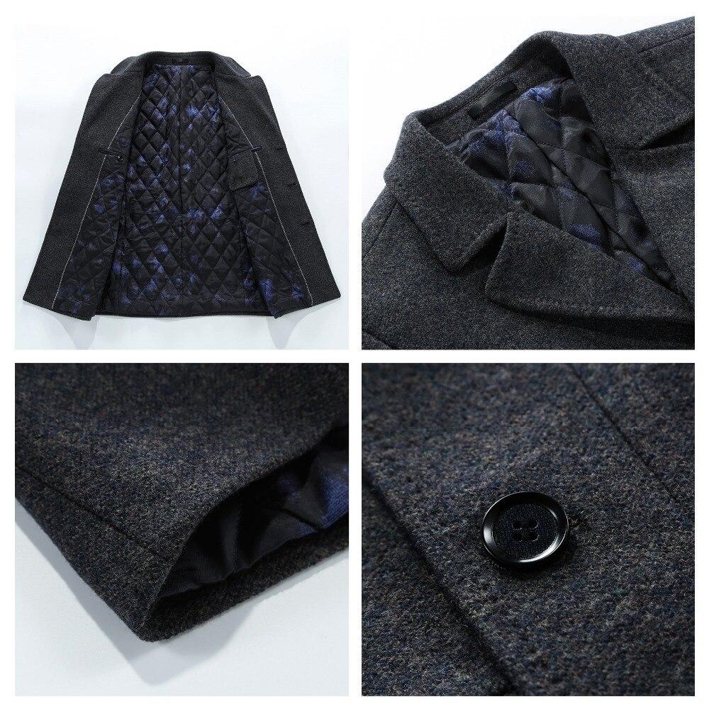 N&B Men Suit Jacket Dress Blazers Mens Frock Coat Man Dress Slim Fit Casual Blazer Night Club Coats Jackets Suits for Men SR11 - 2
