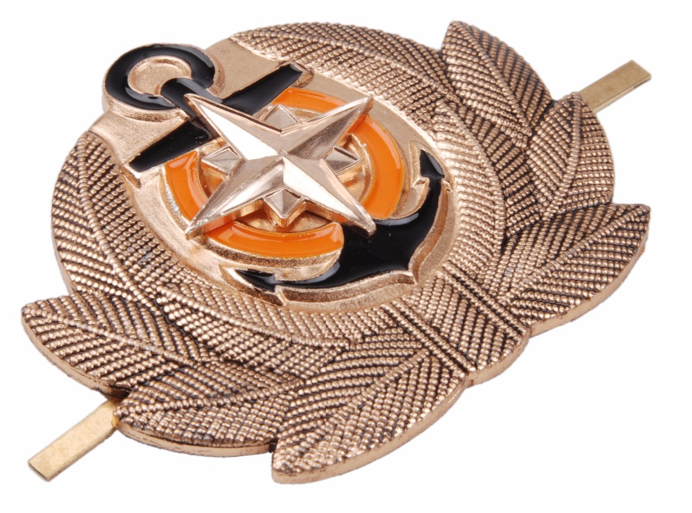 USSR RUSSIAN SOVIET ARMY METAL COCKADE CAP HAT BADGE
