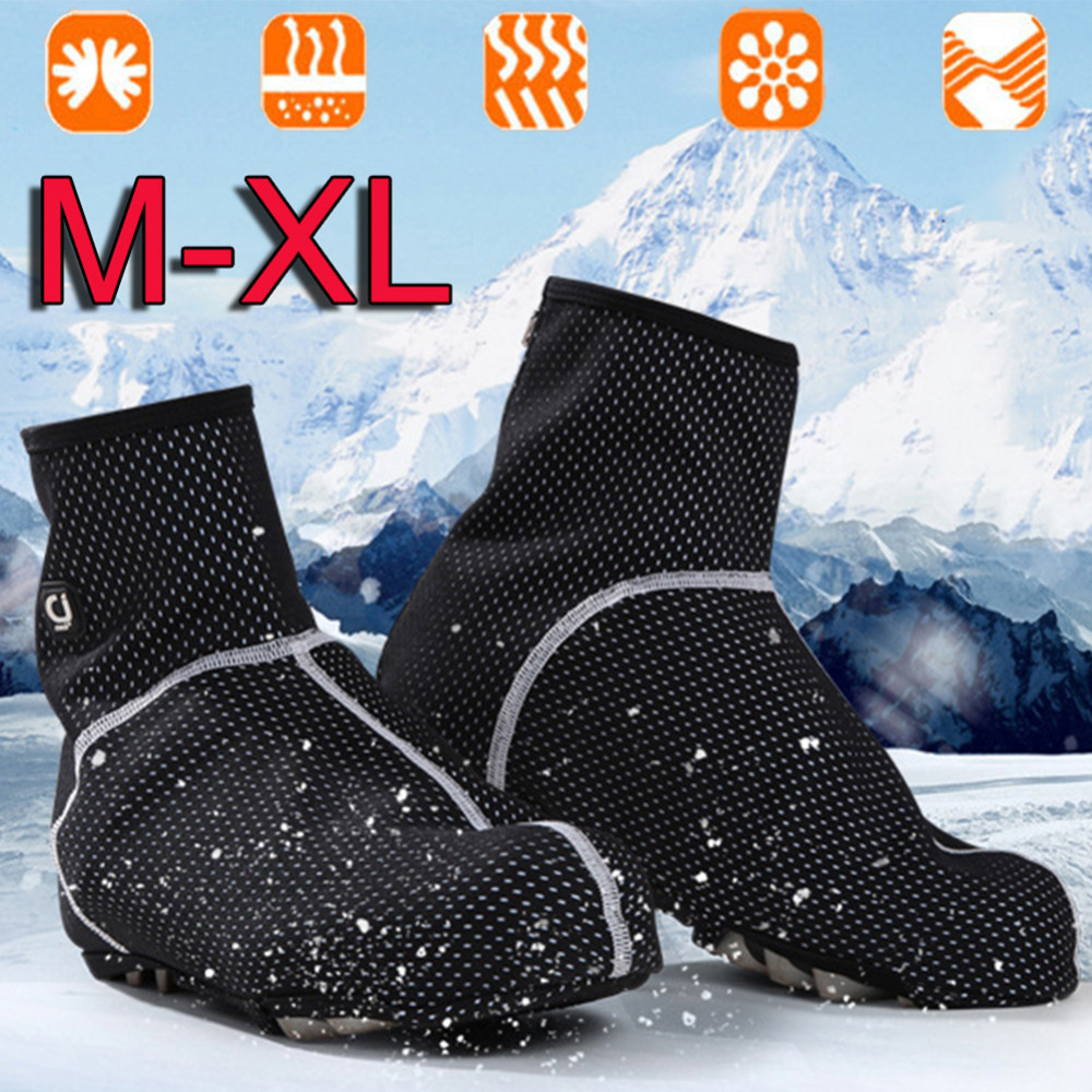 Winter Outdoor Cycling Bicycle Shoes Cover Unisex Waterproof Bicycle Overshoes Windproof Sport Bike Shoe Cover cover cover pl44027 06