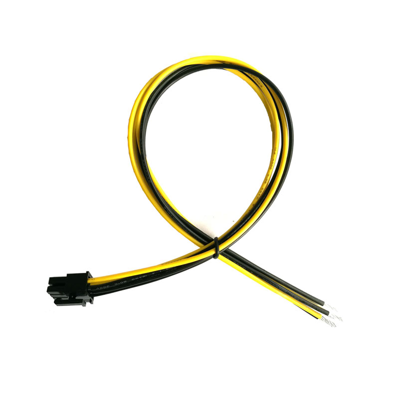 Купить с кэшбэком 16AWG 6Pin PCI-E Bitcoin Mining Power Supply Cable