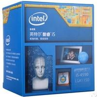 Процессор Intel Core I5 4590 i5 4590 LGA1150 22 нанометров двухъядерный должным образом настольный процессор может работать
