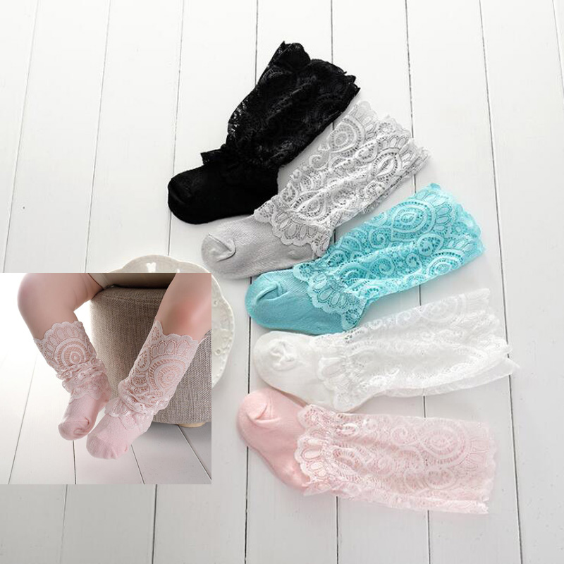 New Baby Lace Pile Toddler Toddler Socks Mesh Breathable Baby Socks