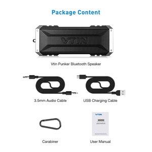 Image 5 - VTIN Punker Портативный беспроводной Bluetooth динамик 20 Вт Выход двойной 10 Вт водители Открытый водонепроницаемый динамик с микрофоном для смартфонов