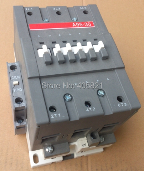 A95-30 AC contactor 3Pole 1NO+1NC magnetic contactor 3 pole ac 0 63a 1a electric thermal overload relay 1 no 1 nc
