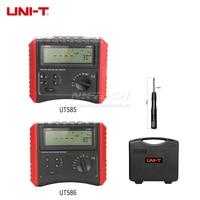 UNI-T UT585 UT586 цифровой тестер rcd переключатель для защиты от утечки тестеры AC DC Напряжение частота 60 V-400 V 50-60 Гц Авто/Руководство рампы