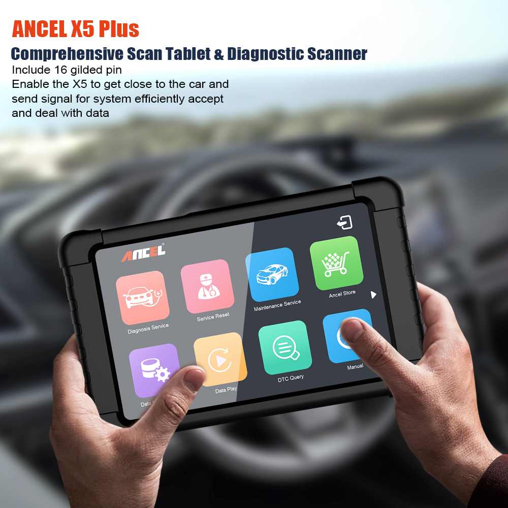 Image 2 - ANCEL X5 WIFI OBD2 Automotive Scanner Full Systems Car Diagnostics ABS SRS Oil EPB DPF Diagnostic Tool OBD Scanner Free Update-in Code Readers & Scan Tools from Automobiles & Motorcycles