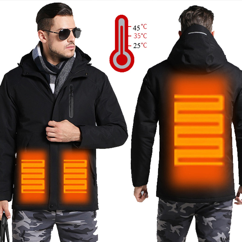 Enjeolon Brand winter Cotton Padded o neck Jacket Men thick Parka coat male Quilted winter jacket