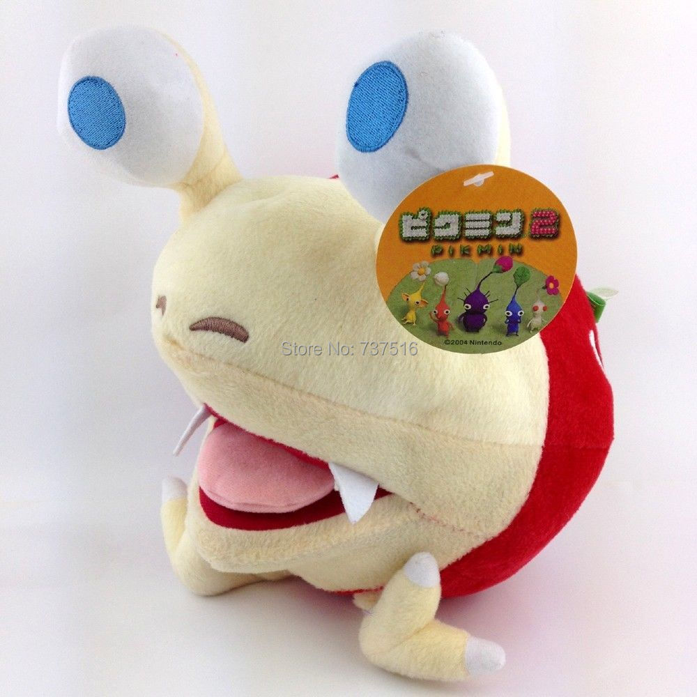Pikmin Bulborb Chappy Soft Plush Doll Stuffed Animal NWT - Christmas Gift for babys toys new hot 33cm dragon ball buu plush toys soft stuffed doll christmas gift
