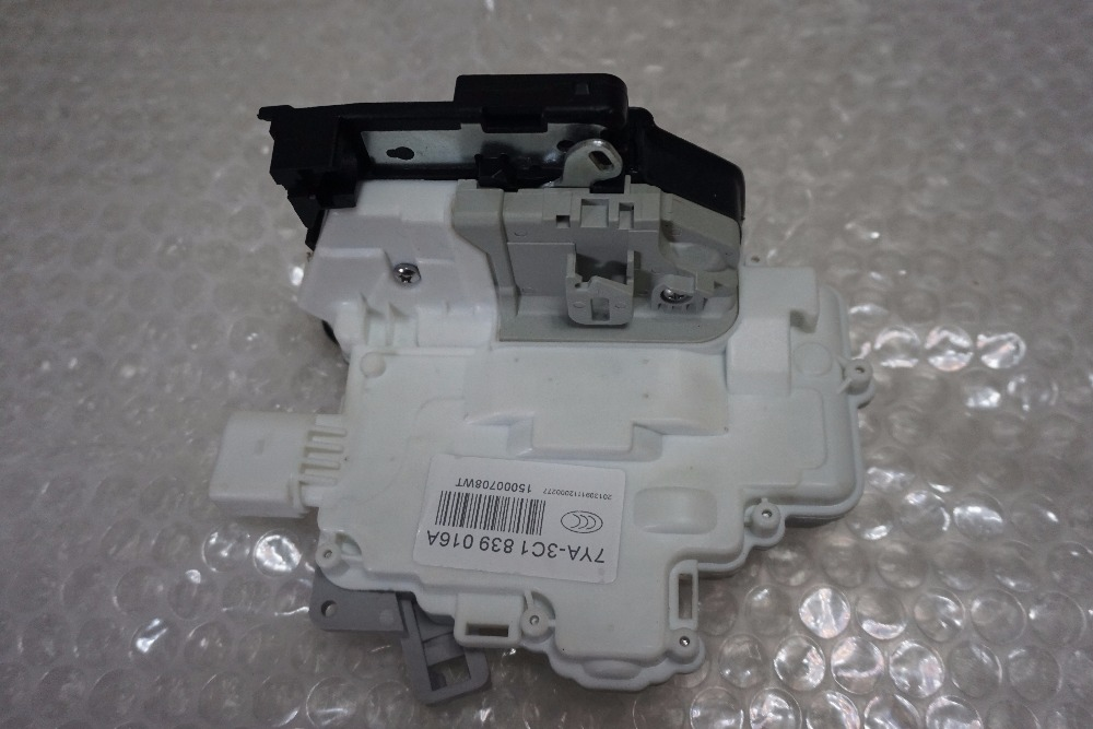 free shipping For vw passat Audi q3 q5 q7 A4 B8 b6 skoda Superb SEAT Ibiza rear Right Door Lock ACTUATOR Mechanism