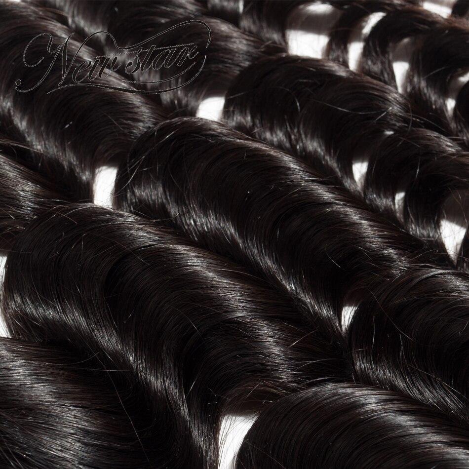 NEW STAR 3 Bundles Loose Deep 10 '' - 34 '' Tomma Virgin Human Hair - Barbershop - Foto 5