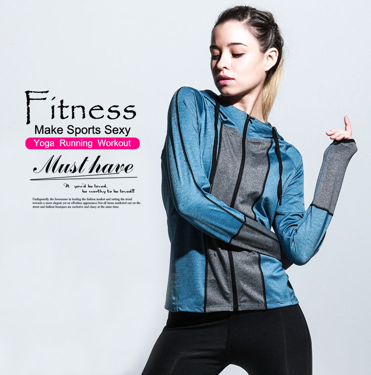 Fitness Jacket Zipper