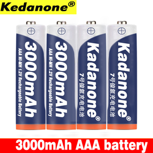 4~20 New AAA battery 3000 mAh 3A Rechargeable battery NI-MH 3A 1.2 V aaa battery for Clocks, mice, computers, toys so on