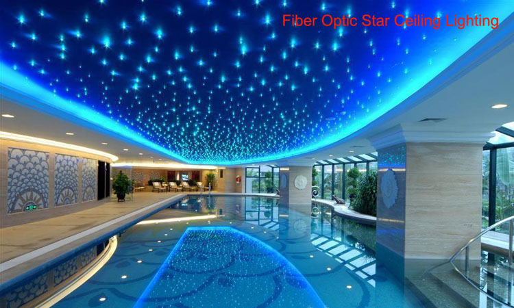 NEW 45w RGB LED Fiber Optic Star Ceiling Light Kit 0.75mm  600pcs*3m+200pcs*2m Optical Fiber LED Dmx Light Engine Light Source In Optic  Fiber Lights From ...