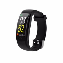GIAUSA F64C Bluetooth Fitness Bracelet Heart Rate Monitor Smart Band  Waterproof Fitness Tracker Color Screen Smartband цена и фото