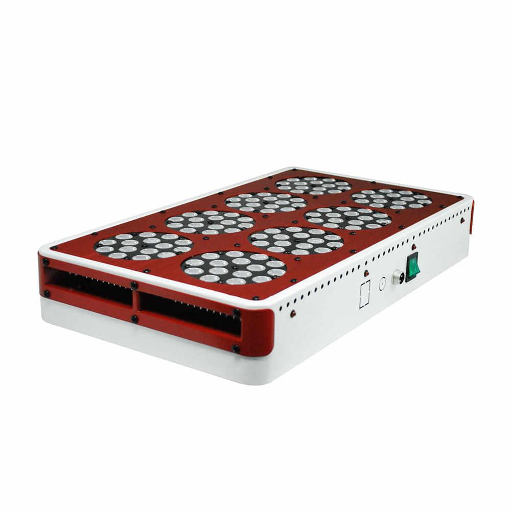 Полный спектр 300 W/450 W/600 W/750 W/900 W/1200 W/1500 Вт Apollo 4/6/8/10/12/18/20 светодиодный световая панель для проращивания 10 полос для всех комнатных растений