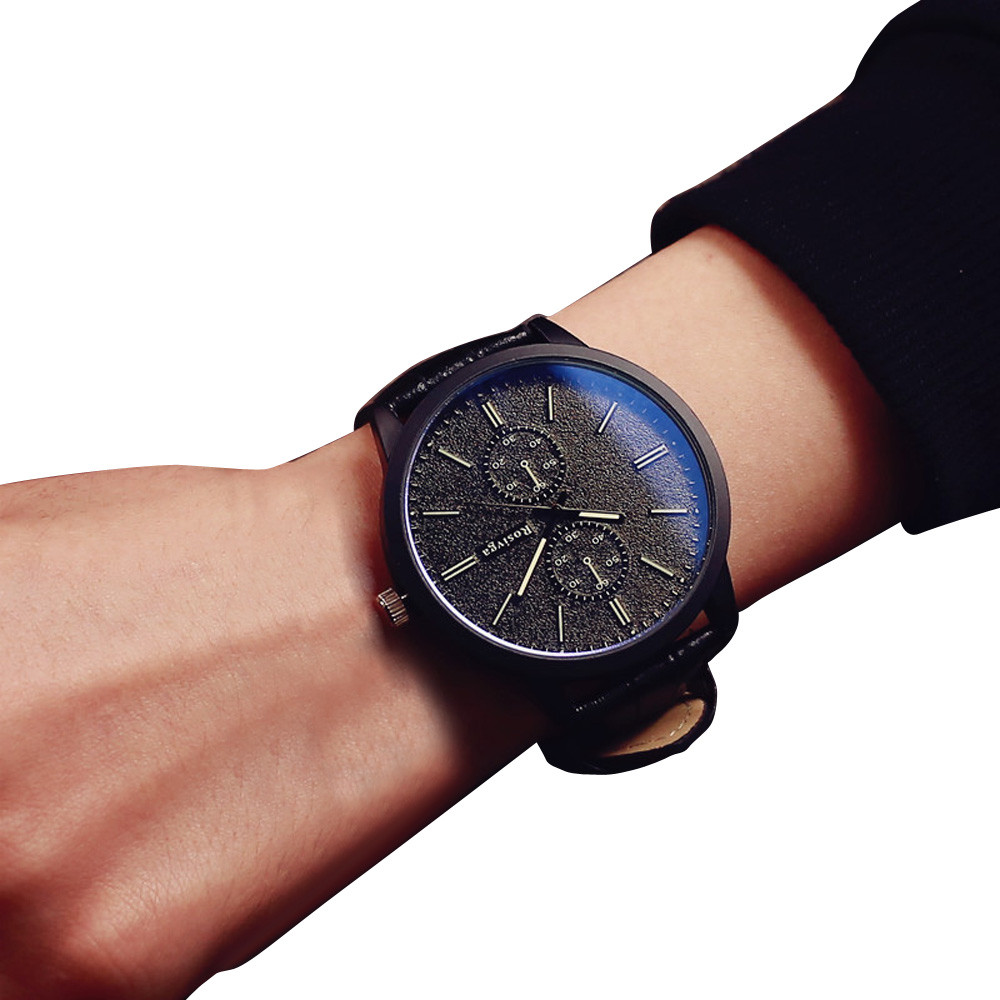 1886208974f Relogio Masculino Men Watch Minimalist Watches Top Brand Luxury Business  Big Dial Lovers Clock Reloj