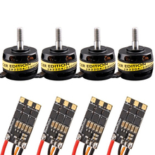 Rctimer FR2304 2100KV 2300KV 2700KV FPV Brushless Edition Motor and 20A DSHOT ESC BS20A Combo Set FR2304/2300-DS20