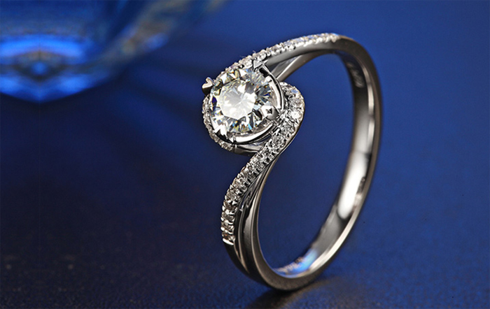 YINHED Elegant Solitaire Ring Genuine 925 Sterling Silver Wedding - Fashion Jewelry - Photo 4