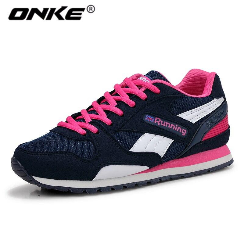Onke 2017 del otoño del resorte de las mujeres zapatos deportivos zapatos para c
