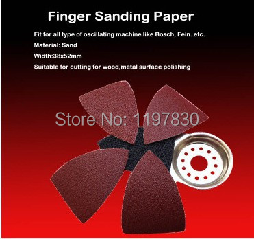 Free Shipping 10PCS 32*58MM Grit 60# 80# 120# 180# 240# Triangular Sandpaper For Most Dremel Machine Brand Polishing