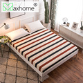 Pattern Printing Brushed Fitted Sheet Mattress Cover Bed Linens with Elastic Band Mattress Protector Pad Soft&Comfortable