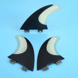 Новые 3 шт Размеры M/G5 стекловолокна и Мёд гребень доски для серфинга Набор для FCS G5 Box Surf Fin хвост двигателей штурвала принадлежности для