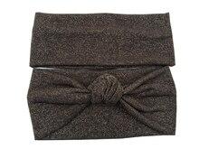 S17527 Новые осенью и зимой набор goodstretch goldshimmer аксессуары для волос мода насыщенный коричневый головные уборы девушки головная повязка для женщин