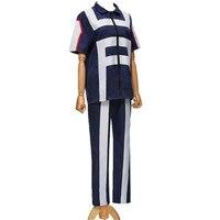hero bakugou katsuki / Iida tenya / todoroki shouto Cosplay costume my hero Academy Sports Tops corrective + Pants for girl