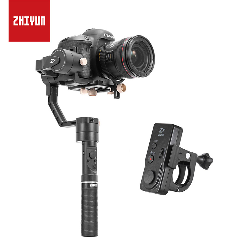 Zhiyun Crane plus 3-Axis Handheld Camera Gimbal Stabilizer POV Mode for Nikon/Canon Sony A7/Panasonic LUMIX Mirrorless DSLR latest 2017 version zhiyun crane 3 axis handheld stabilizer gimbal for dslr canon sony a7 cameras load 1800g