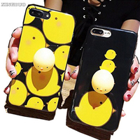 XINGDUO Case For IPhone 7 Squishy Phone Case Ecompression Cute Cartoon 3D Squishy Seal Soft Silicon