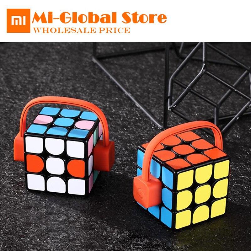 xiaomi mijia Giiker super smart Rubik's cube App remote control Professional Magic Cube Puzzles Educational Toys for kid adult цена