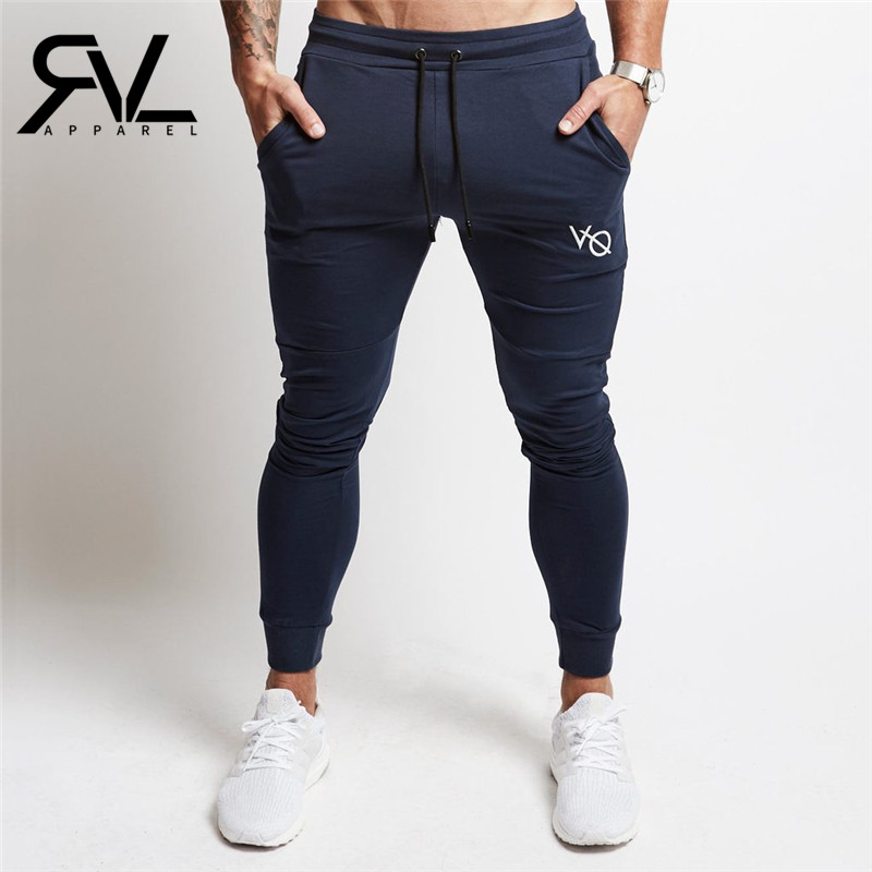 2017 New VQ Gyms clothing in men pants men fashion Jogger Pants Skinny casual trousers pants top quality sweatpants