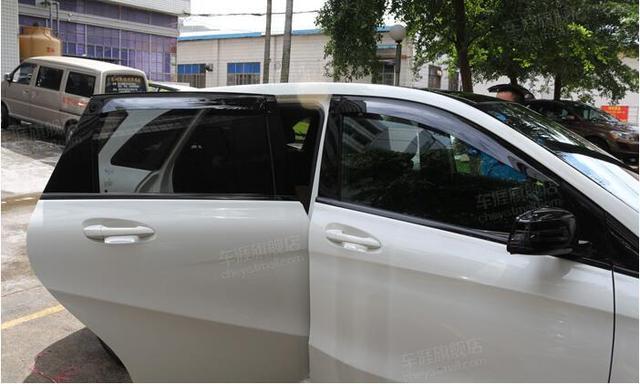 4 pcs Viseira Janela Defletor Guarda Escudo Para Benz B Class W246 2012 2013 2014 2015
