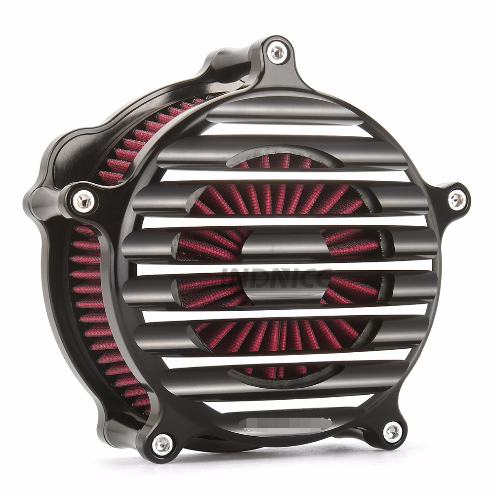 CNC edge cut Nostalgia Venturi Air intake system for harley sportster xl883 1200 air filters sportster 883 1991-2018 image