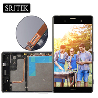 LCD Display Touch Screen With Frame 5 2 For SONY Xperia Z3 LCD Screen Dual D6603