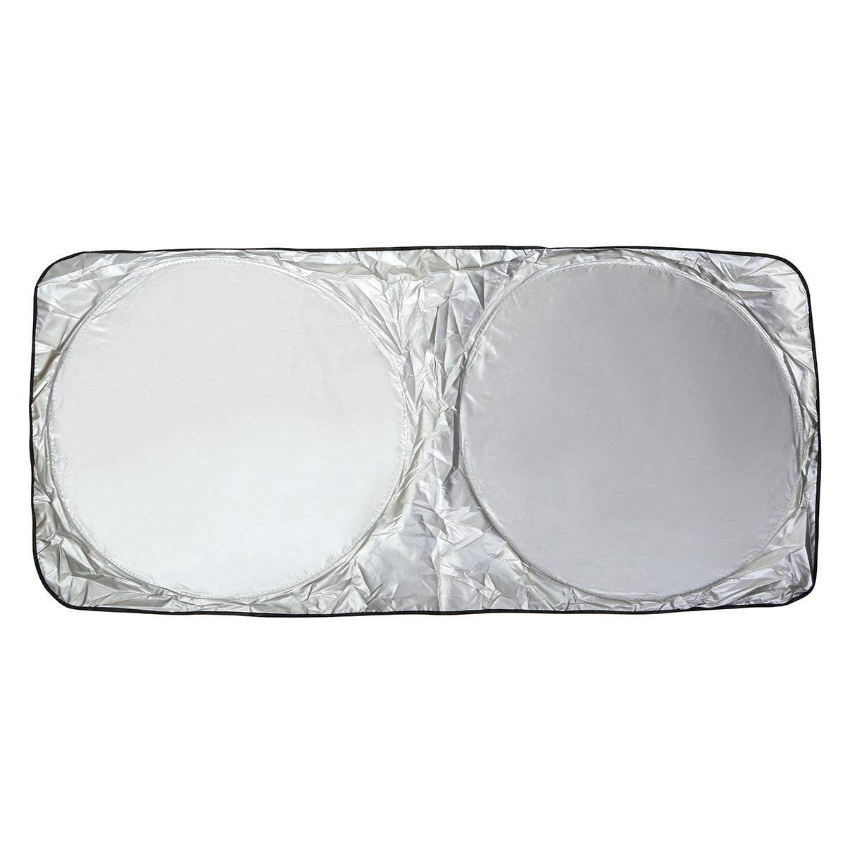 MAYITR Universal Foldable Sun Shade Car Front Rear Window Sunshade Auto Windshield Block Cover Visor Solar Protection Film